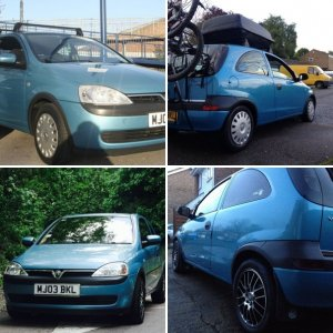 Breeze blue corsa c